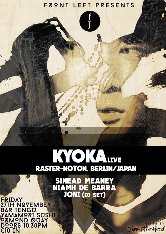 Kyoka Gig Poster