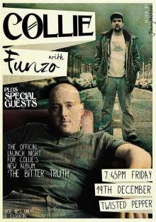 Collie Collins Gig Poster