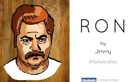 Ron Swanson Digital Portrait