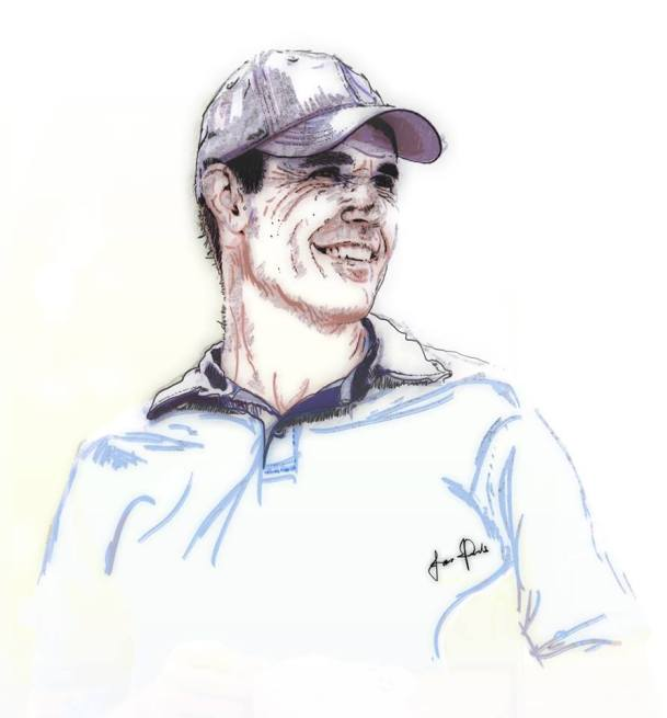 Padraig Harrington Portrait
